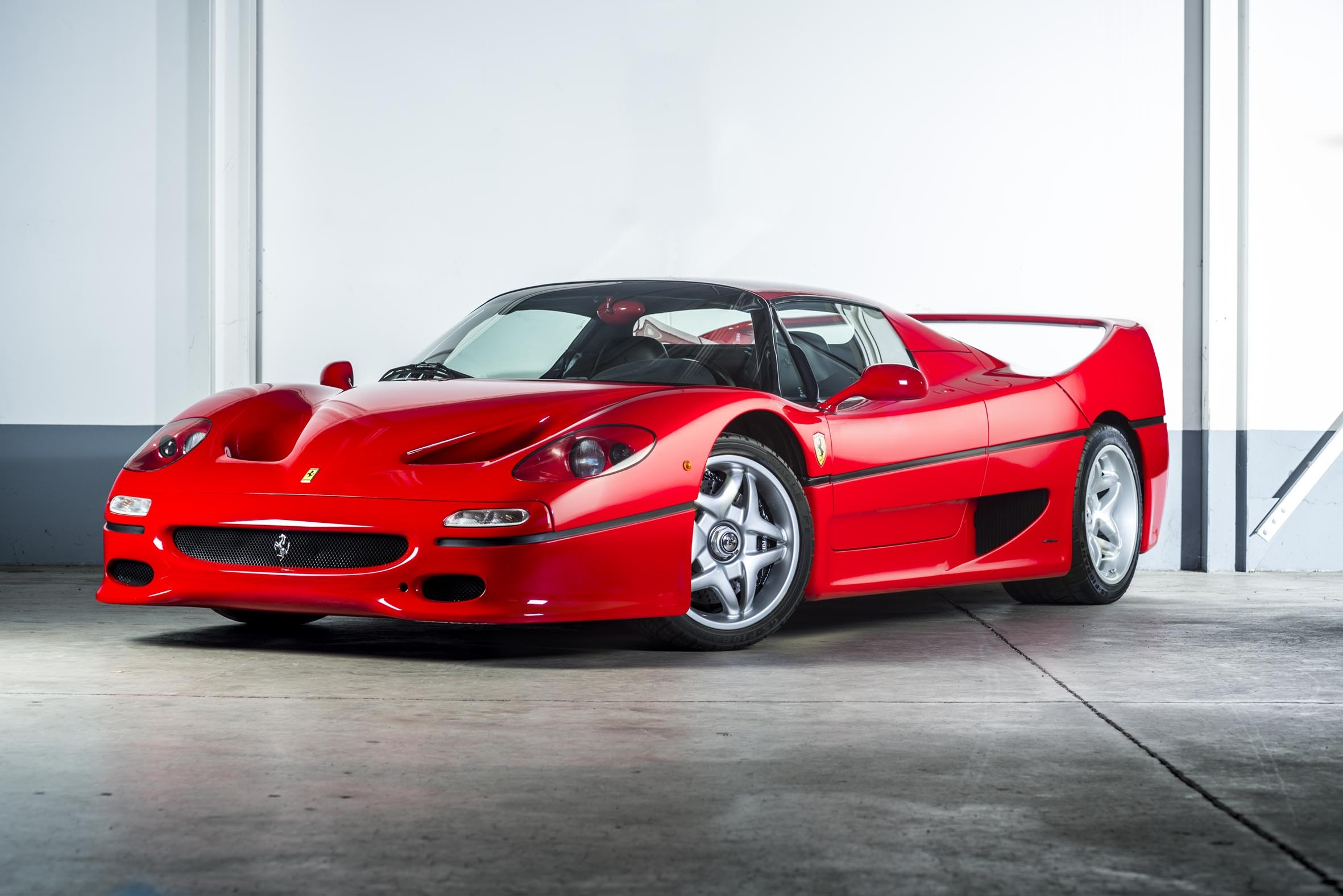 1997 ferrari f50 only 8500km first paint and classiche classic driver market