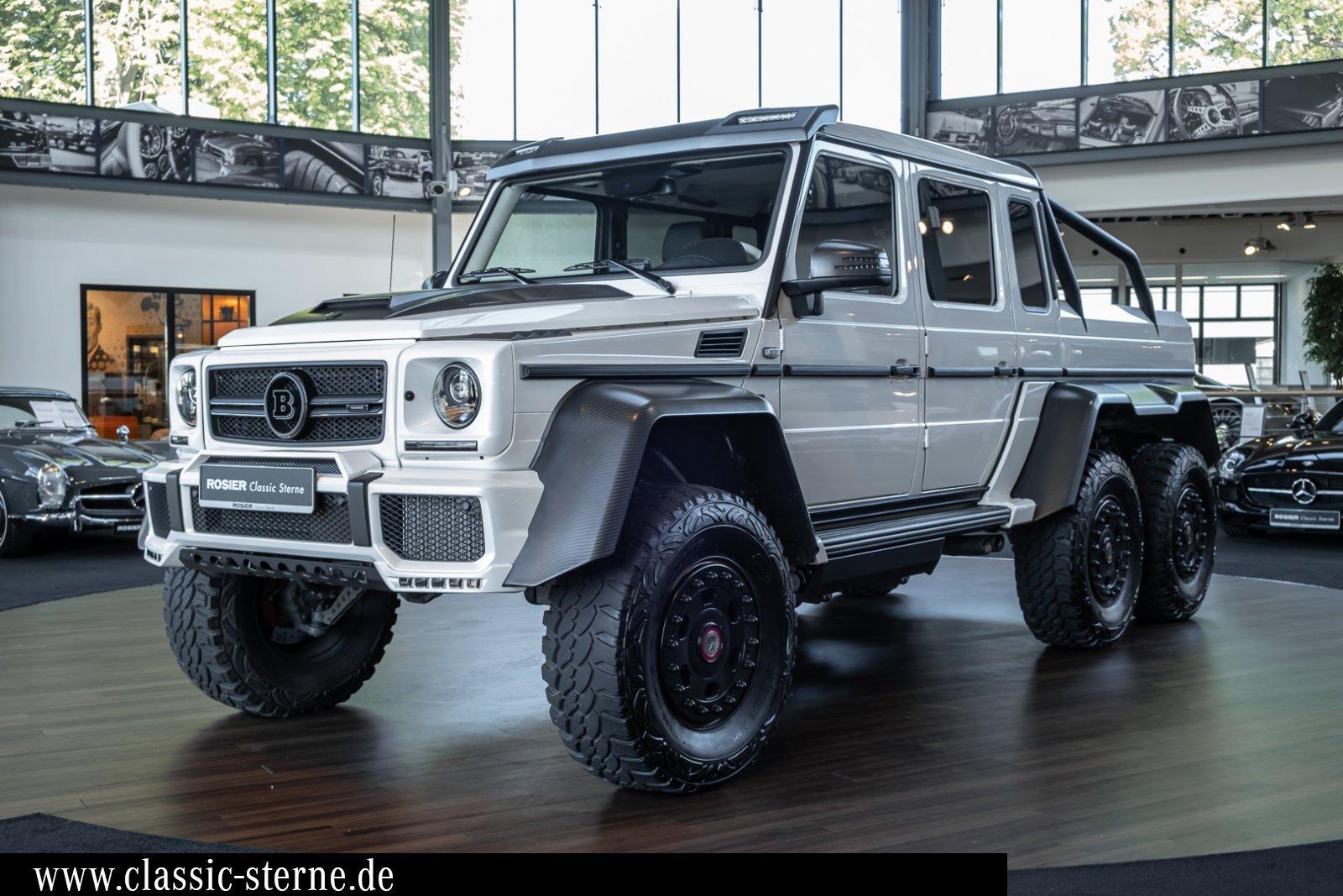 2014 Mercedes Benz G Class G 63 Amg 6x6 Brabus White White Exclusive Classic Driver Market