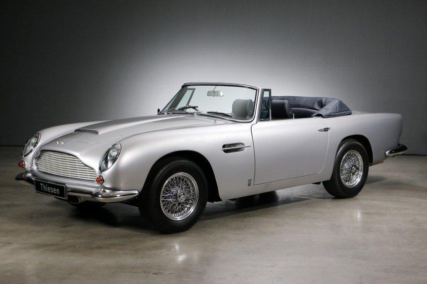 1965 Aston Martin Db5 Db 5 Convertible Vintage Car For Sale