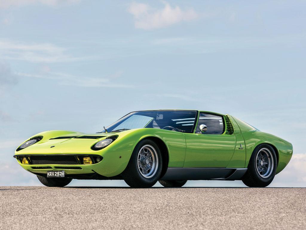 Used Car Auctions >> 1968 Lamborghini Miura - P400 | Classic Driver Market