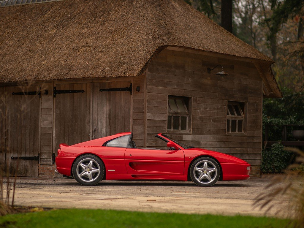 1999 Ferrari F355 Gts Classic Driver Market