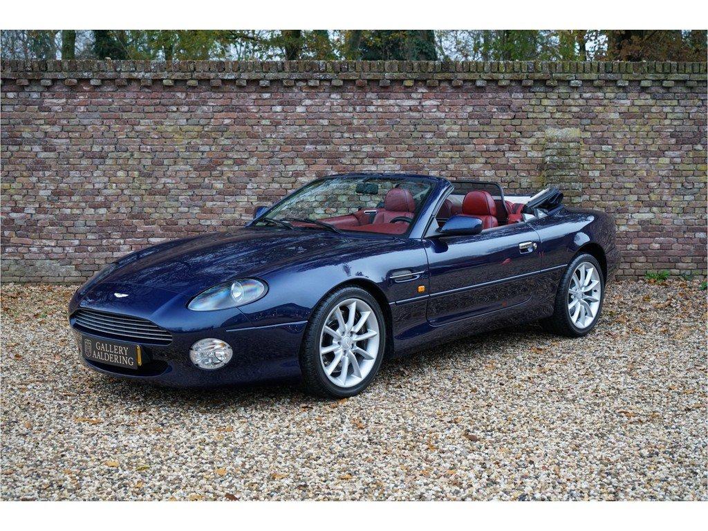 2002 Aston Martin Db7 Volante 5 9 V12 Vantage Touchtronic Classic Driver Market