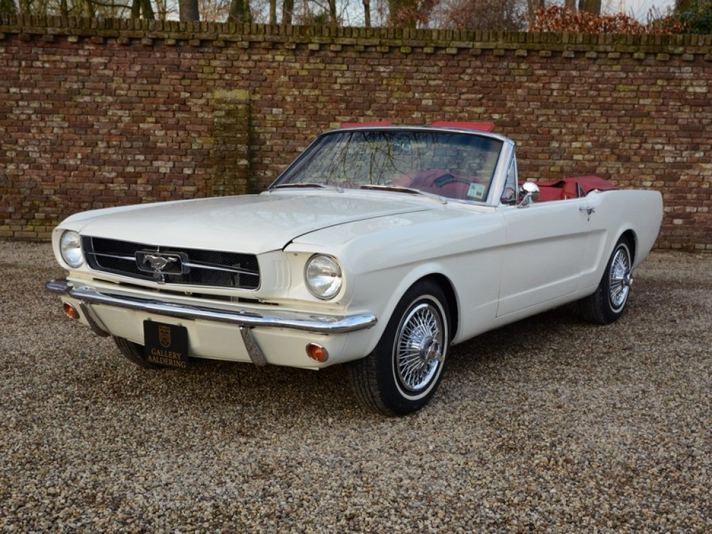 1965 ford mustang voiture de collection à vendre