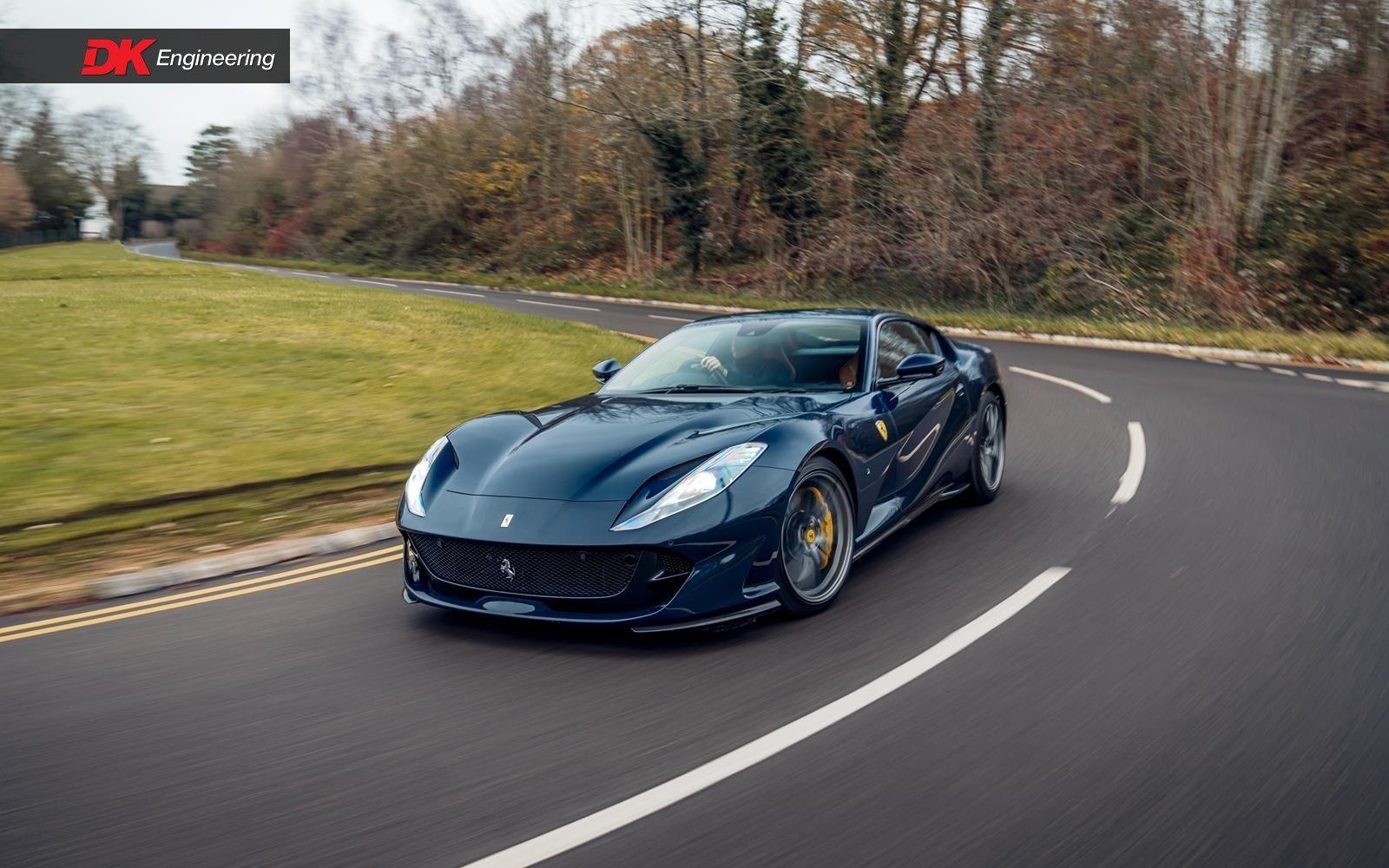 2020 Ferrari Superfast Blu Pozzi Uk Supplied In 2020 2 300 Miles Classic Driver Market