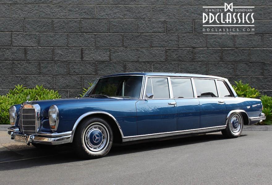 1975 mercedes benz 600 6 door pullman rhd classic