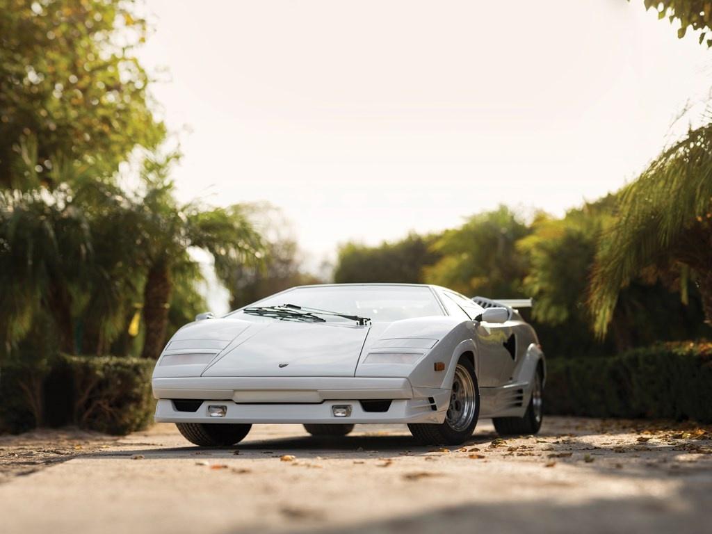 1989 Lamborghini Countach 25th Anniversary Classic Driver Market