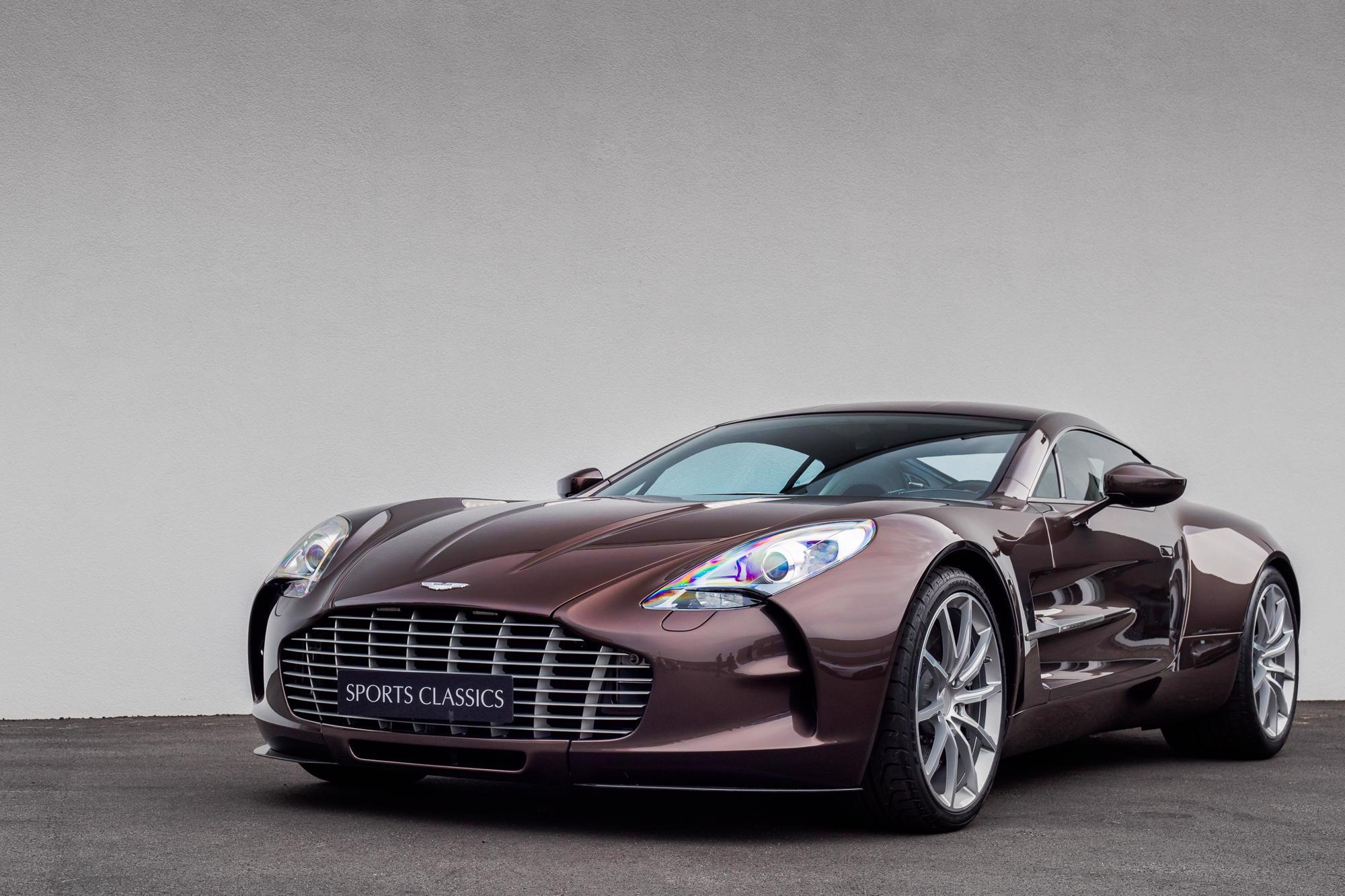 2012 Aston Martin One 77 Classic Driver Market