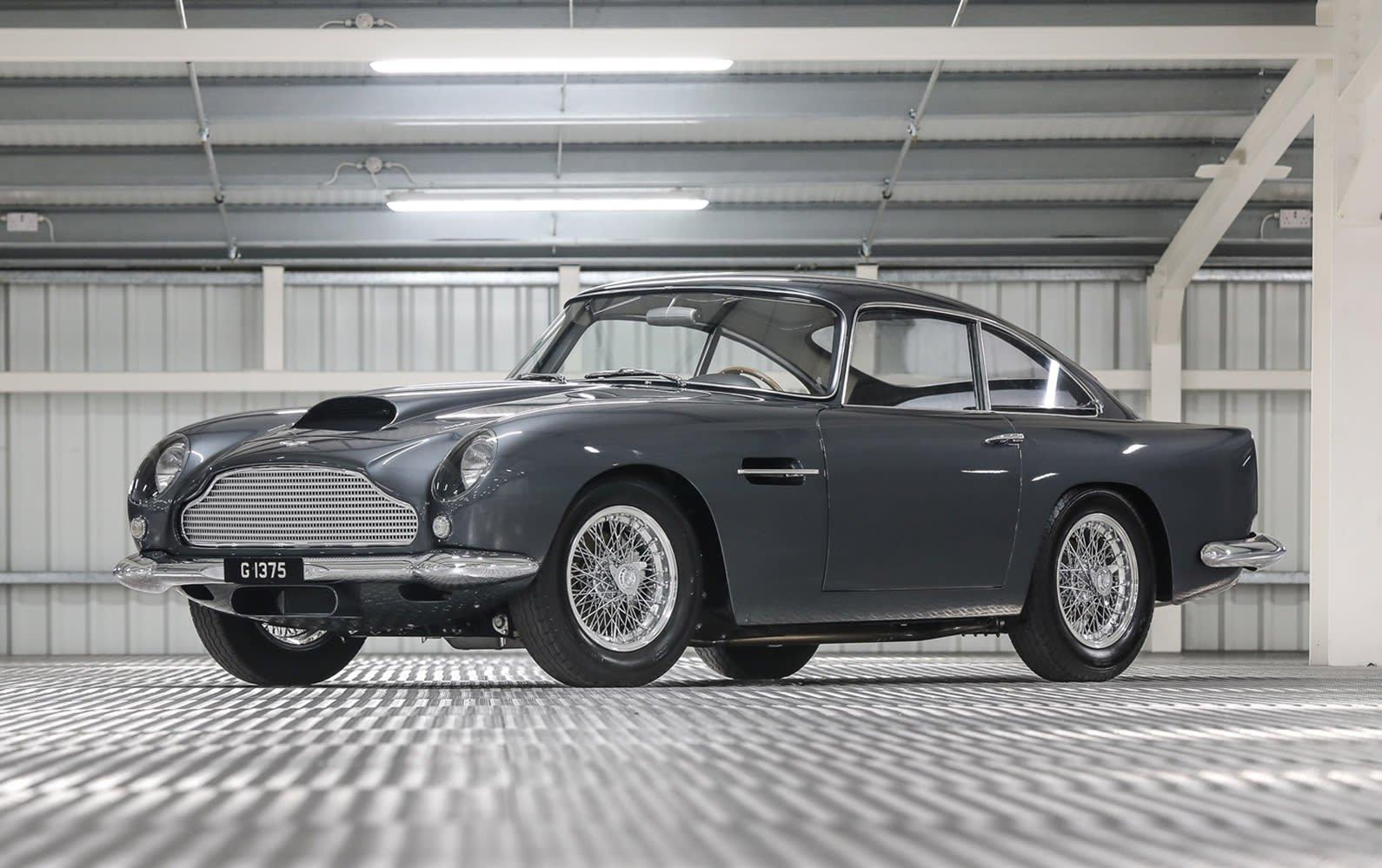 1961 Aston Martin Db4 Classic Driver Market