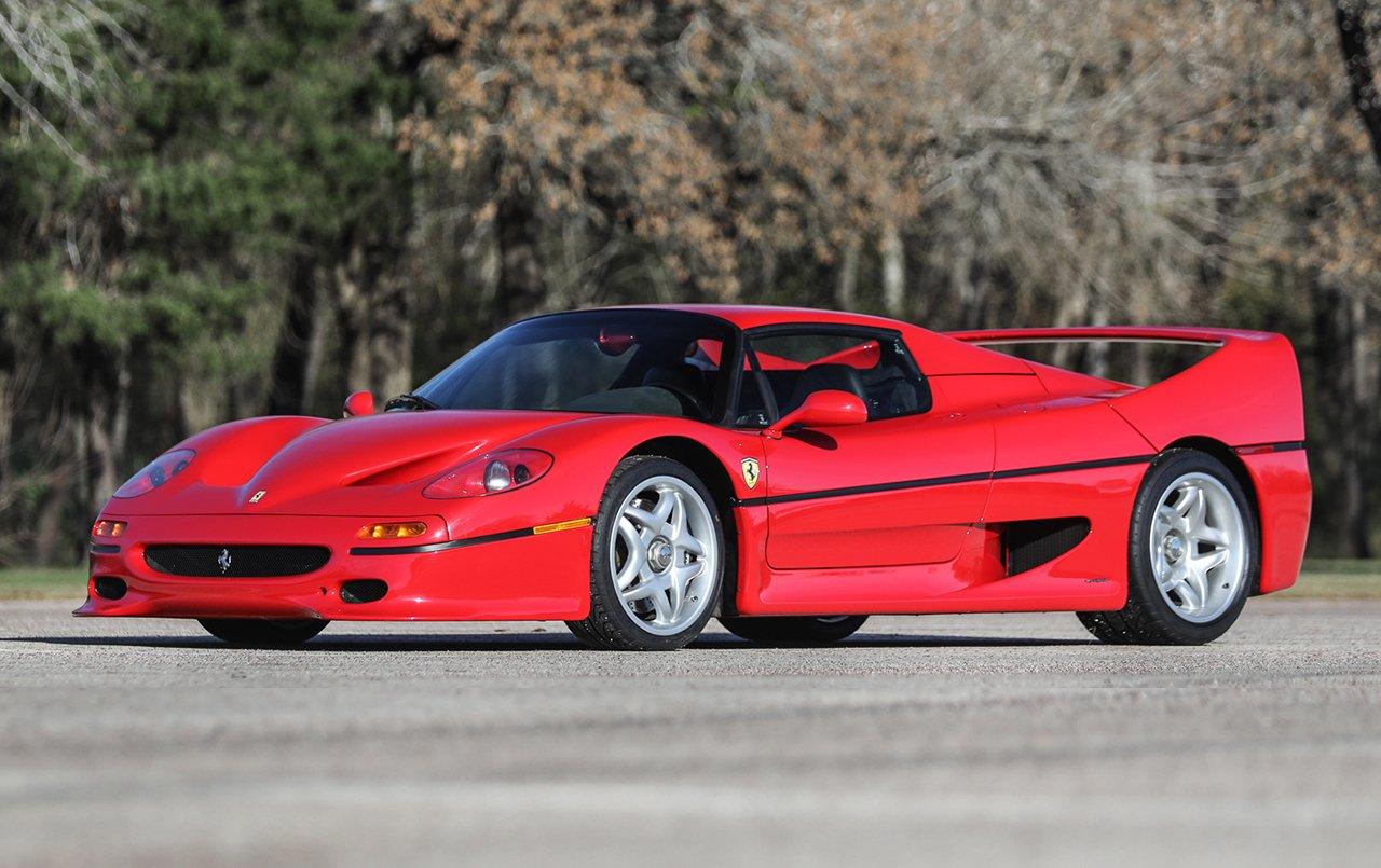 1995 Ferrari F50 Classic Driver Market