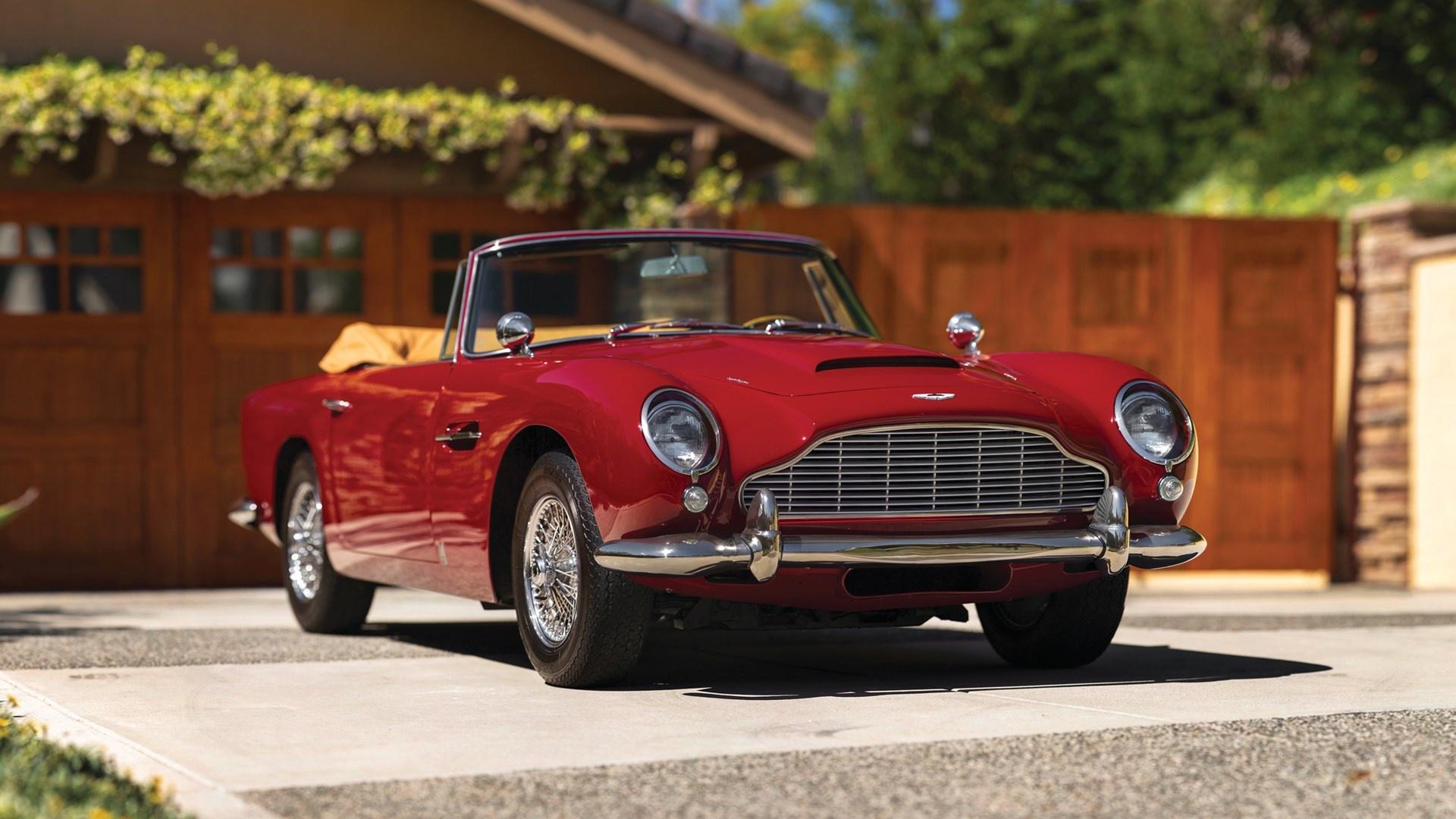 1965 Aston Martin Db5 Vantage Convertible Classic Driver Market