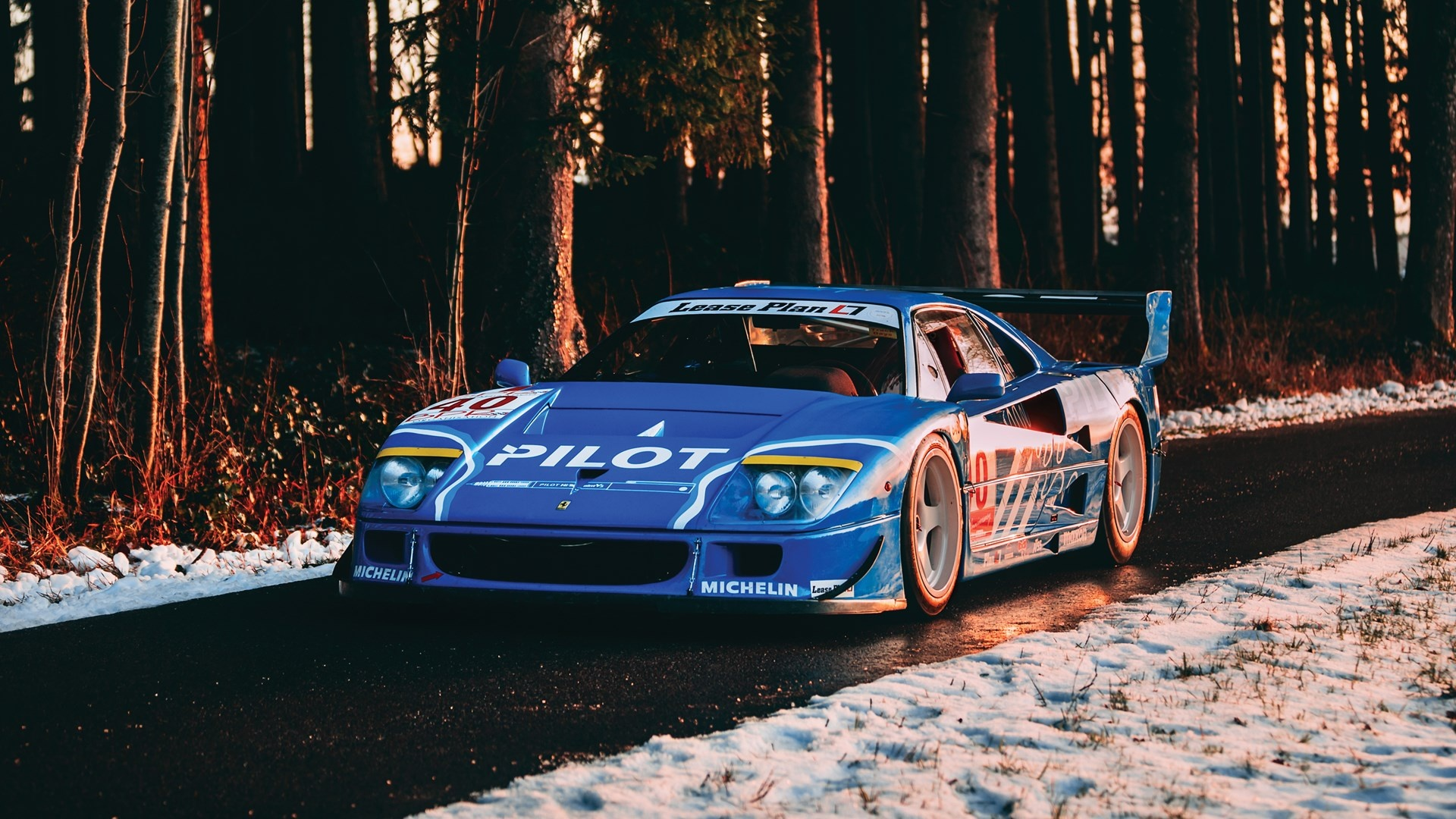 1987 Ferrari F40 Lm Classic Driver Market