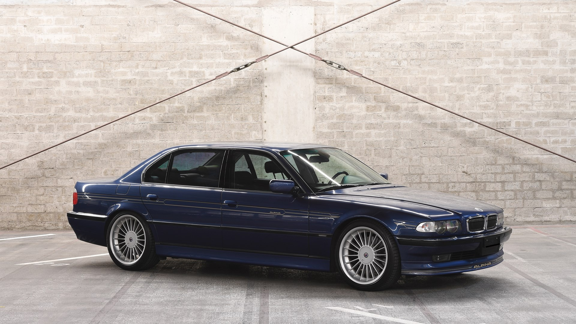 2000 Bmw Alpina B12 6 0 Langversion Classic Driver Market