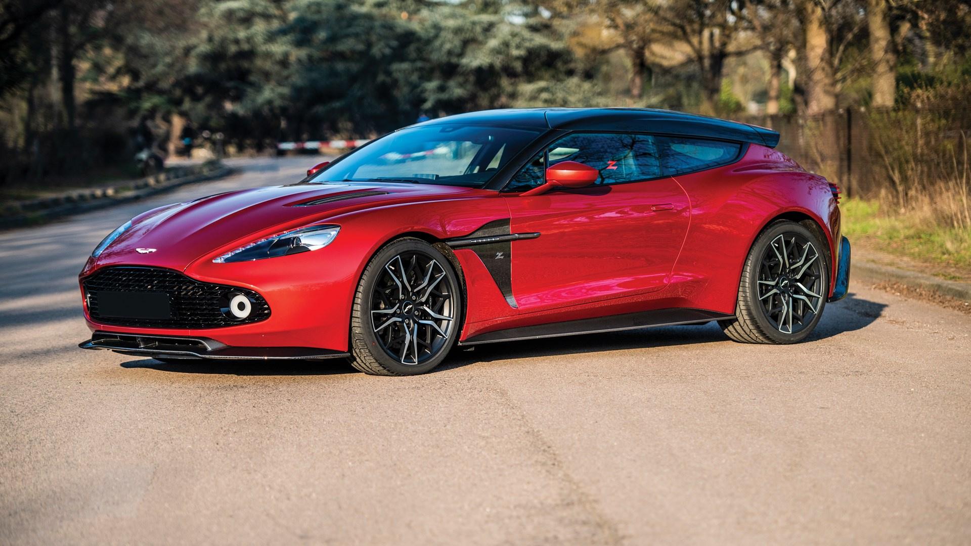 2019 Aston Martin Vanquish Zagato Shooting Brake Classic Driver Market