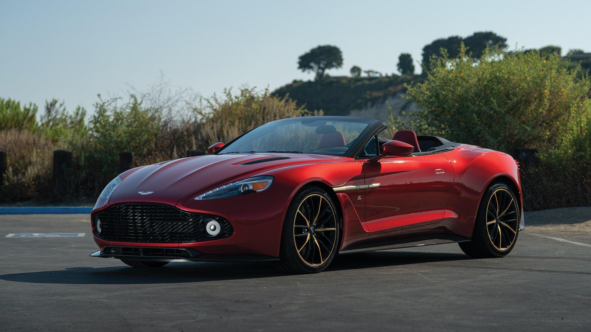 2018 Aston Martin Vanquish Zagato Volante Villa D Este Classic Driver Market