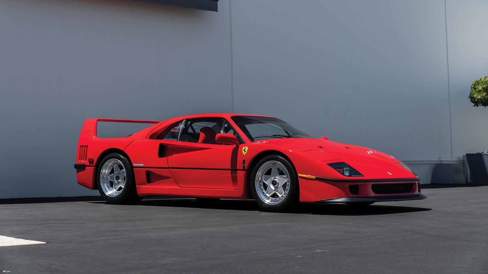 1991 Ferrari F40 Classic Driver Market