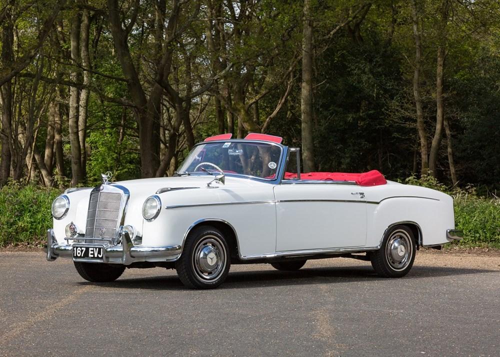 1957 Mercedes-Benz Ponton    Classic Driver Market