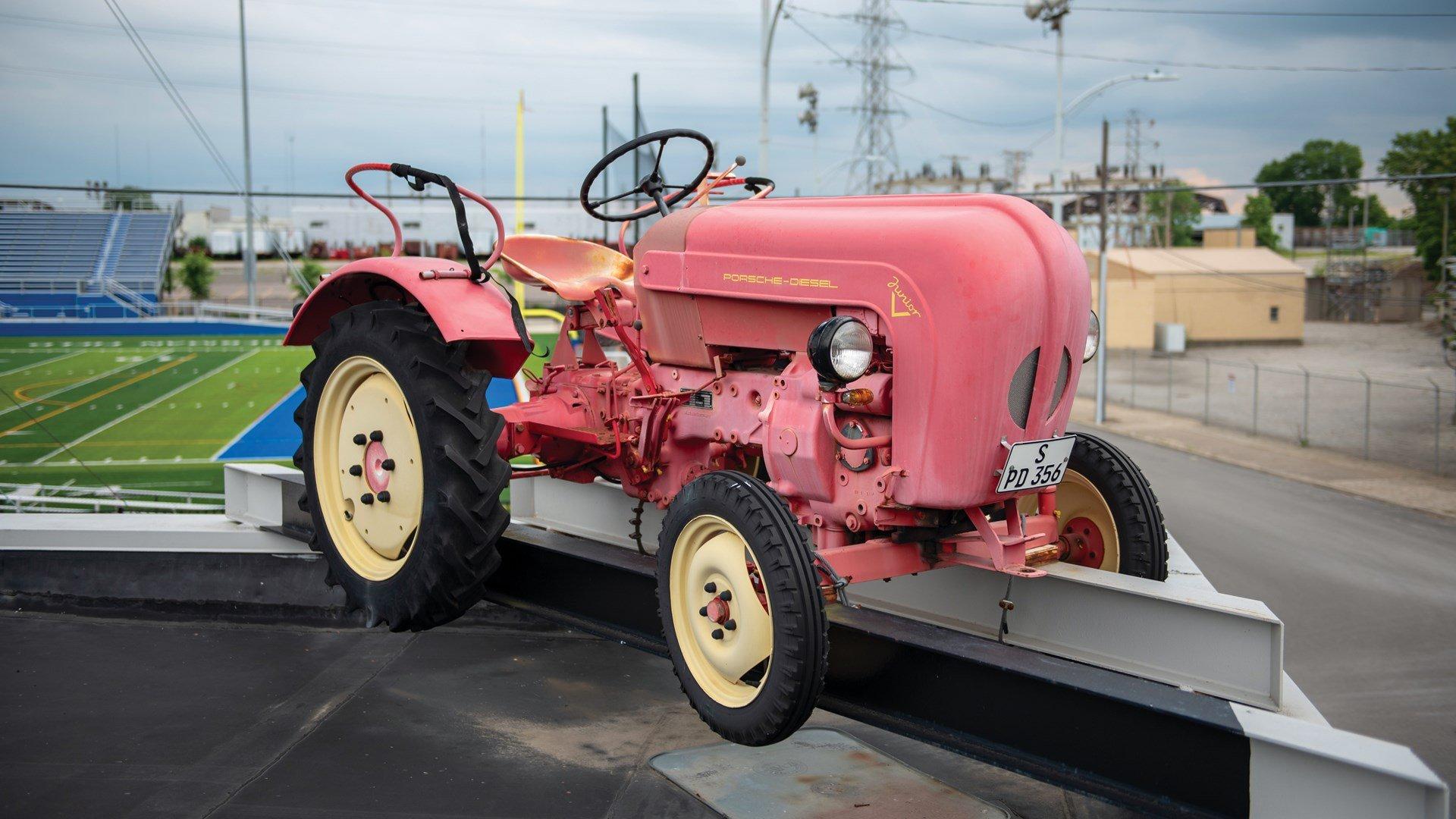 1960 Porsche Tractor , Junior 108 K