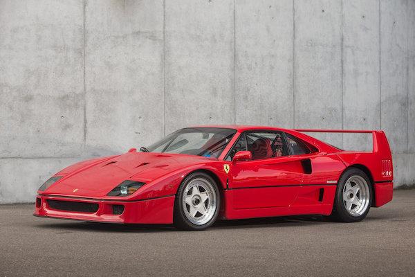 1989 Ferrari F40 Classic Driver Market