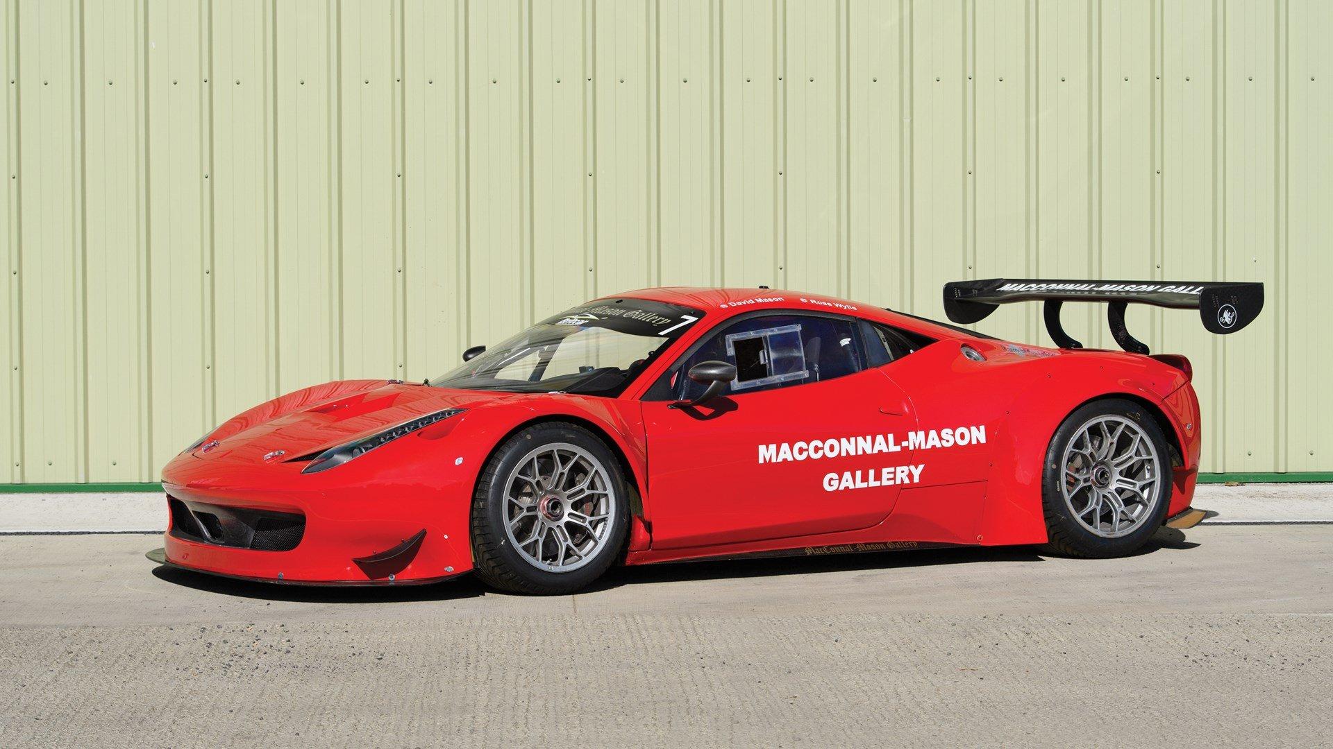 2011 Ferrari 458 Gt3 Classic Driver Market