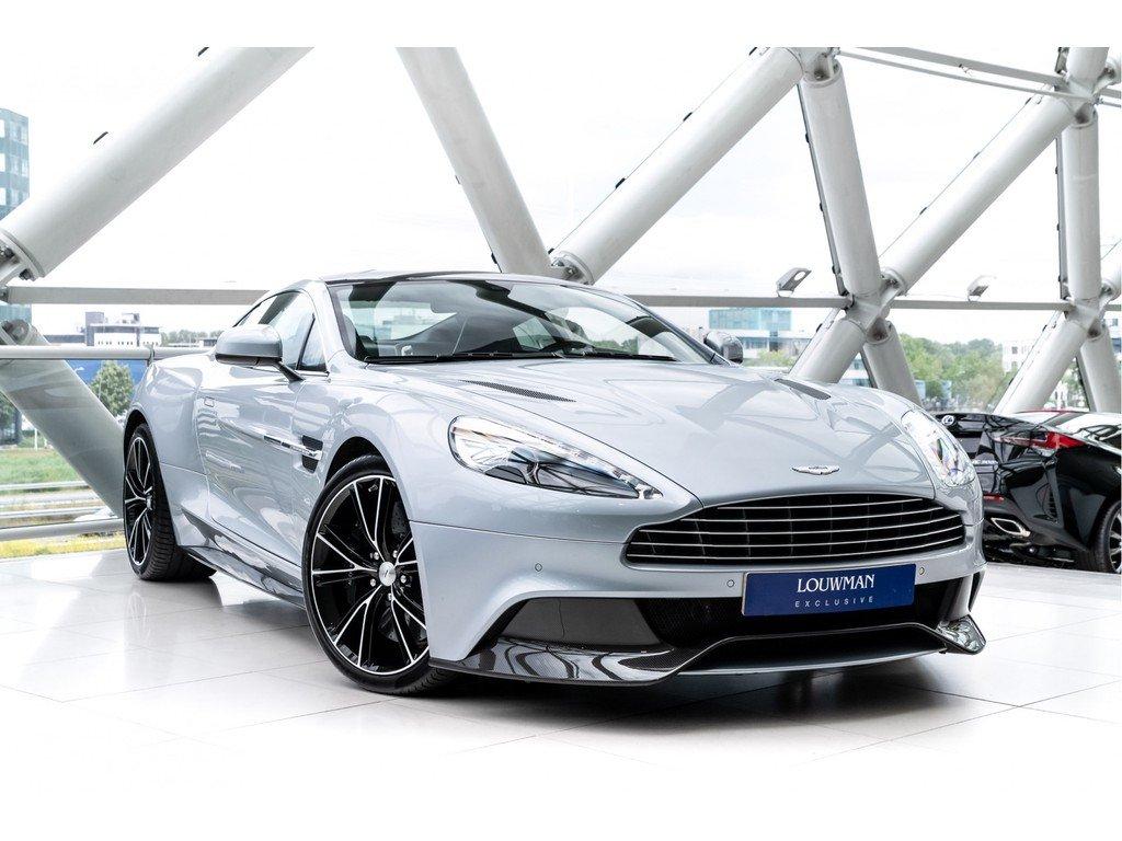 2016 Aston Martin Vanquish V12 Carbon Black White Touchtronic 2 2 Classic Driver Market