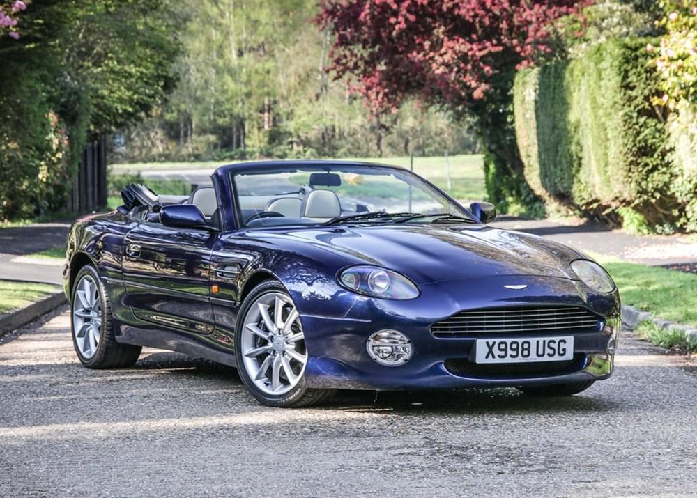 2001 Aston Martin Db7 Vantage Classic Driver Market