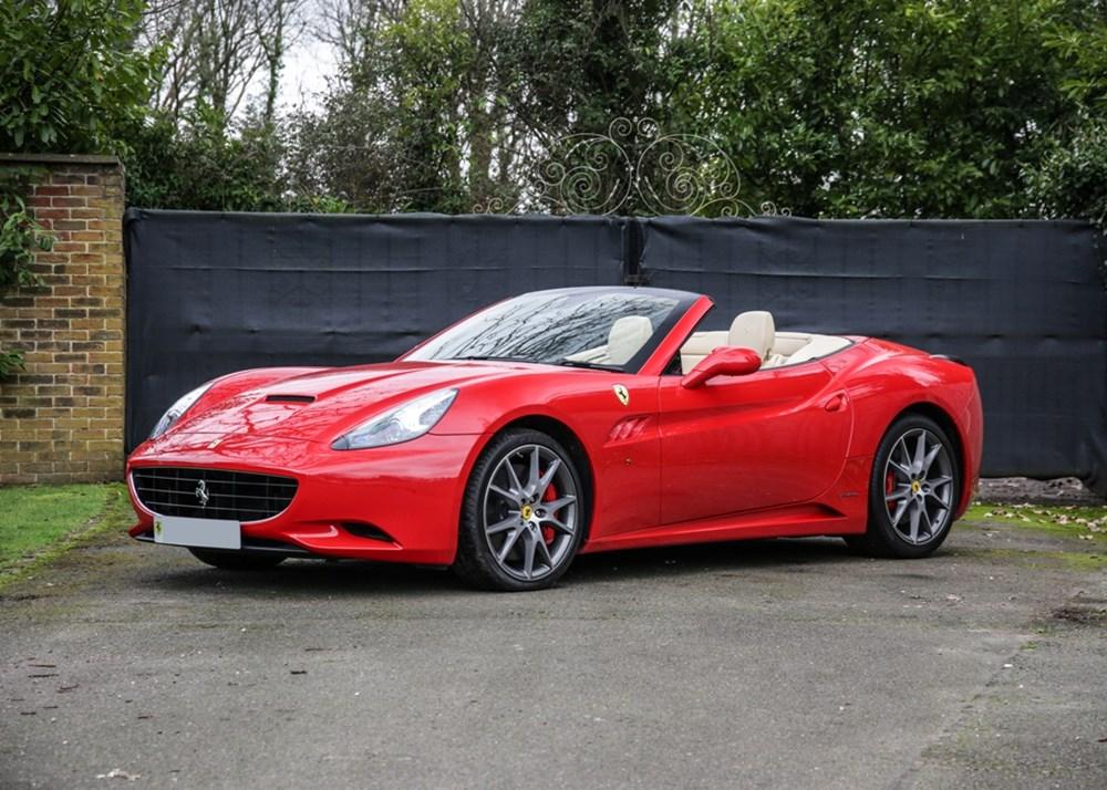 2009 Ferrari California Classic Driver Market