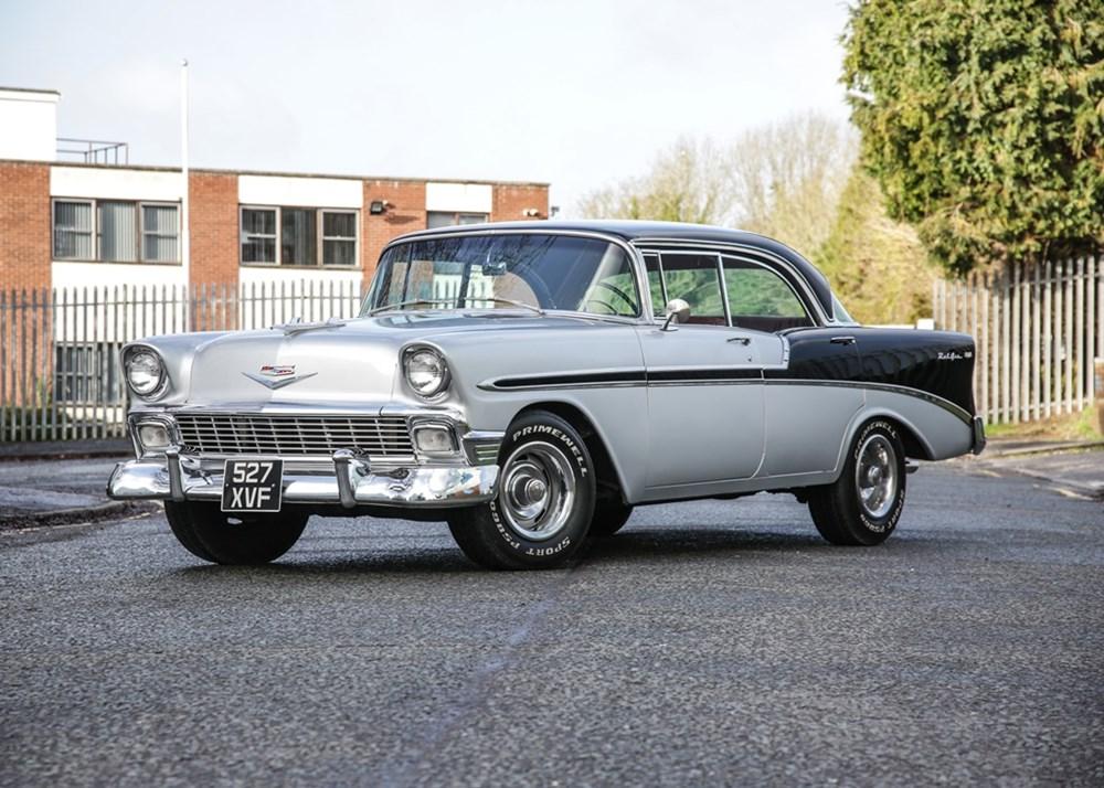 1956 Chevrolet Bel Air Classic Driver Market