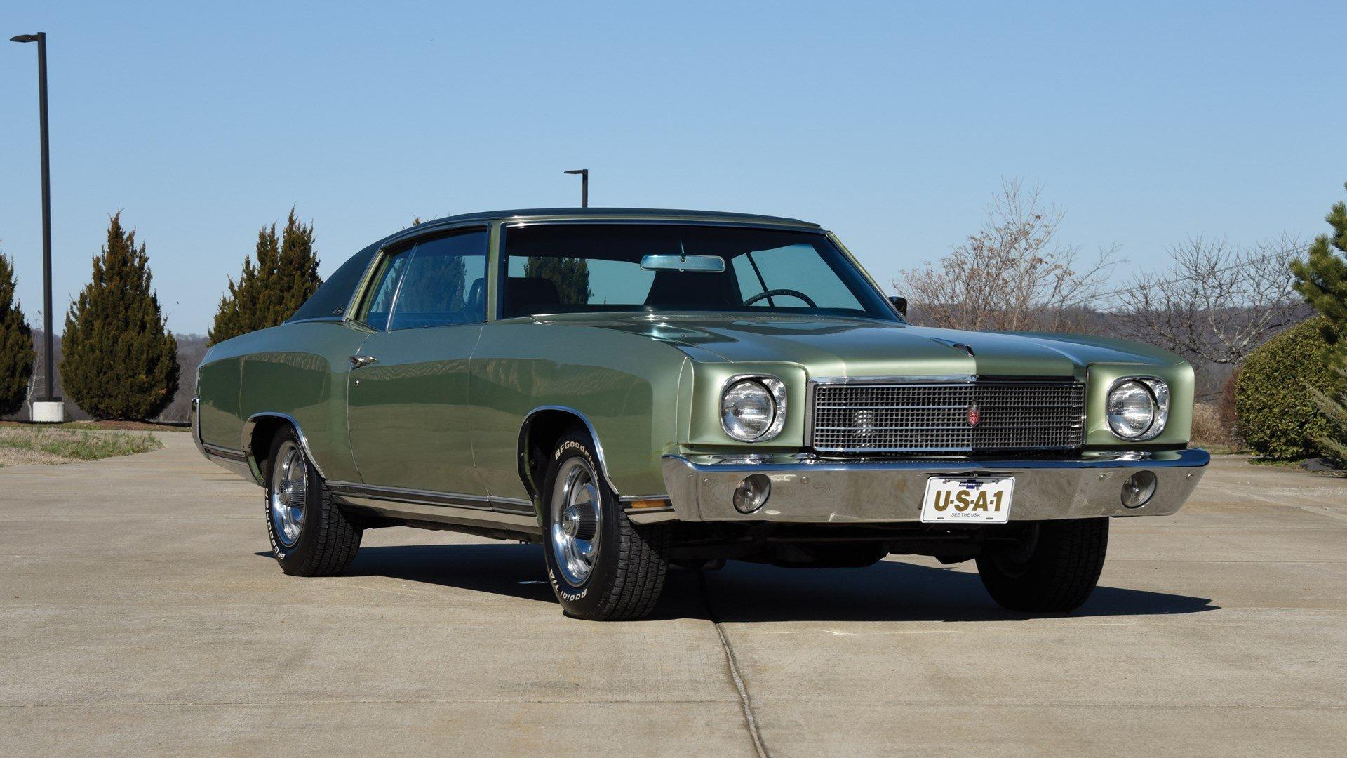 1970 Chevrolet Monte Carlo Classic Driver Market