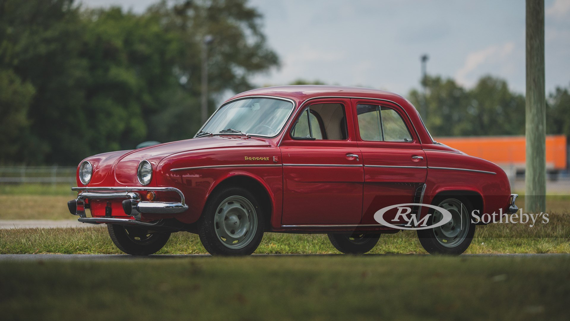 1962 Renault Dauphine Gordini Deluxe Classic Driver Market