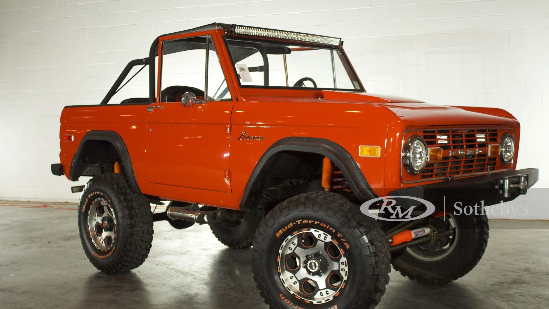 1975 Ford Bronco Pickup Classic Driver Market
