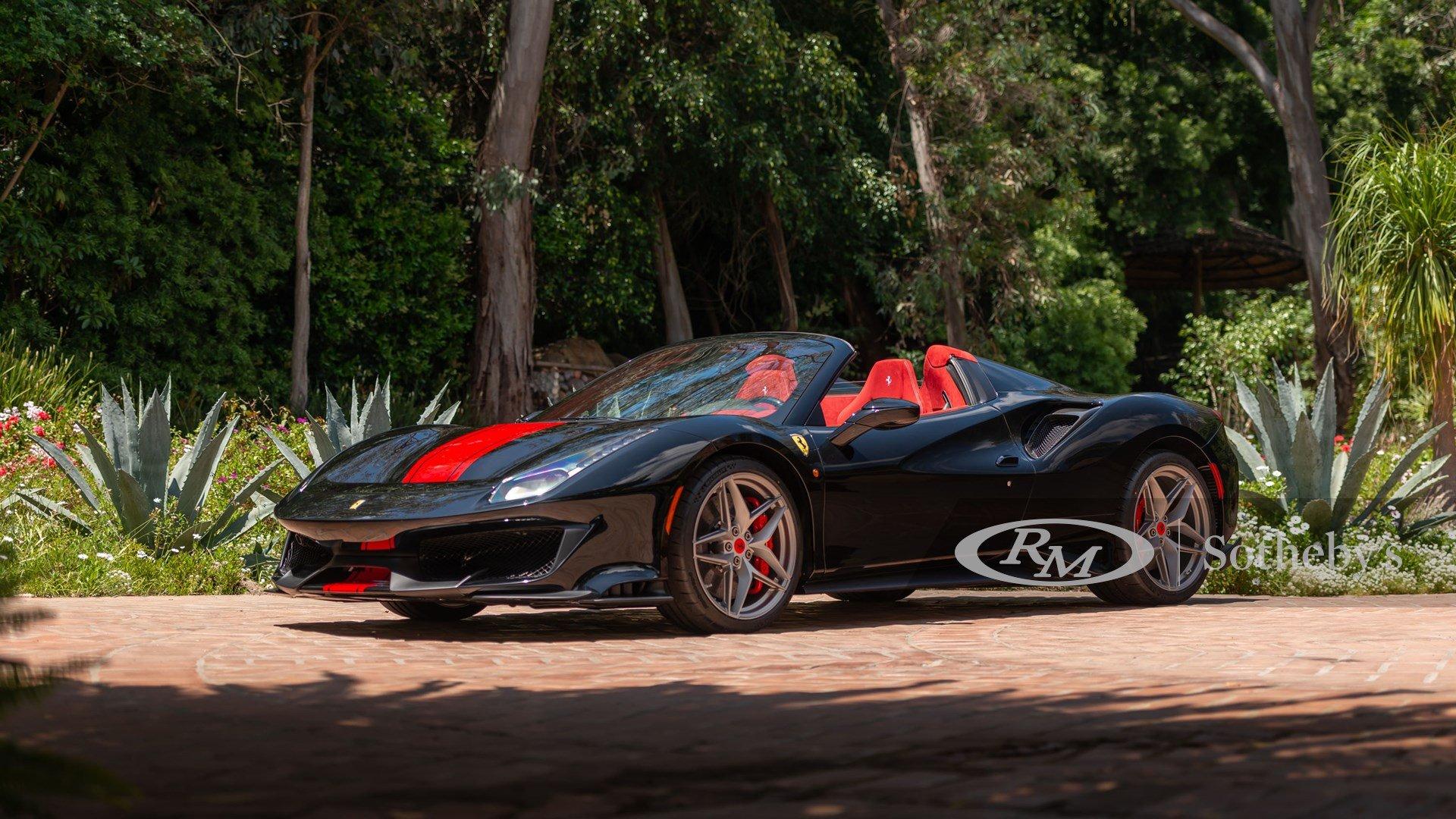 2020 Ferrari 488 Pista Spider Classic Driver Market