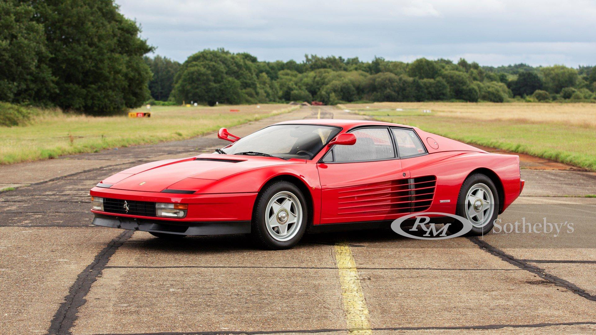 1986 Ferrari Testarossa Classic Driver Market