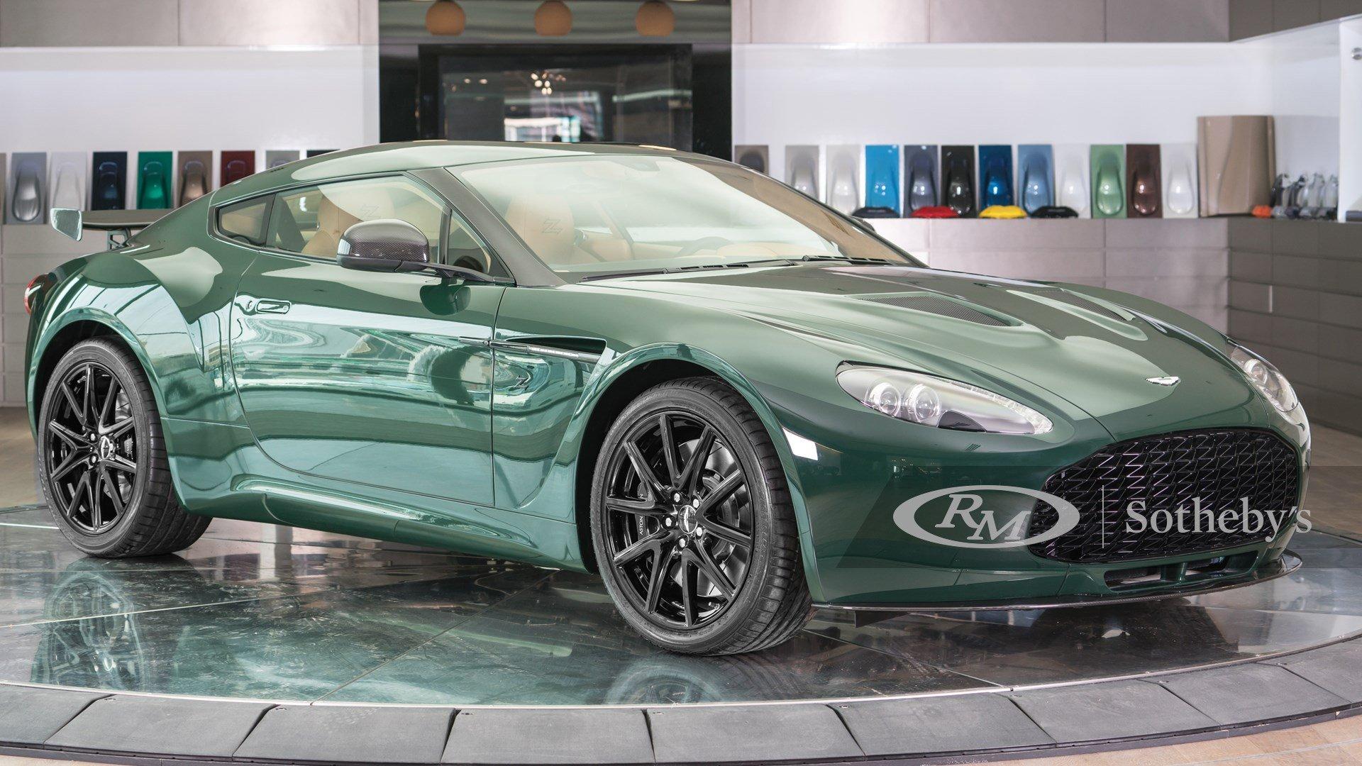 2014 Aston Martin Vanquish V8 Zagato Classic Driver Market