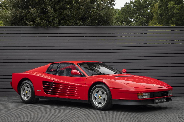 1989 Ferrari Testarossa Classic Driver Market