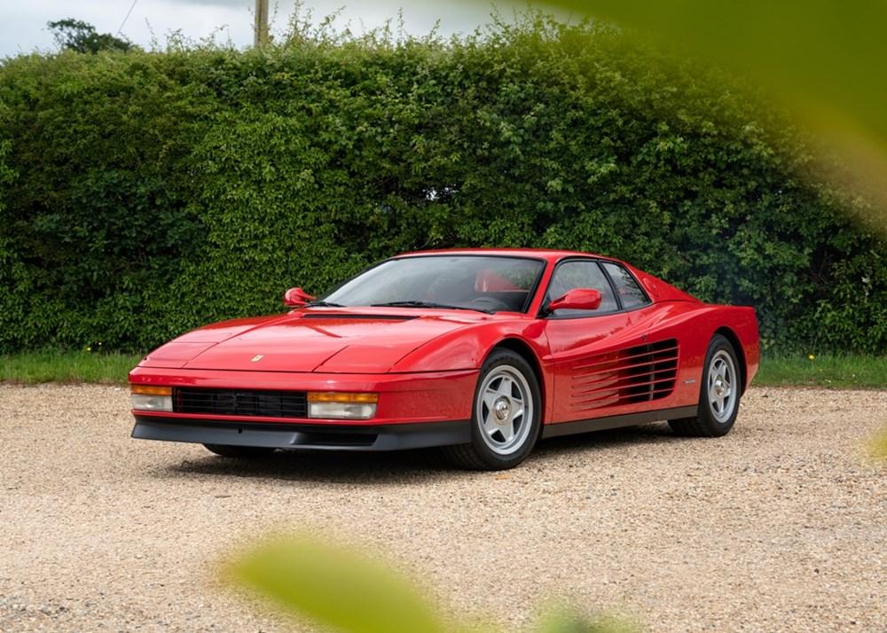 1987 Ferrari Testarossa Classic Driver Market