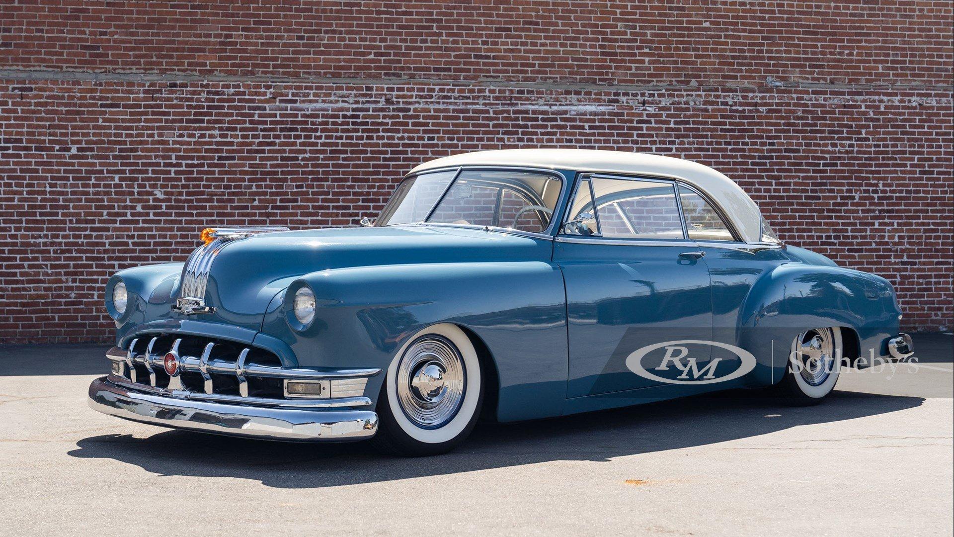 1950 Pontiac Chieftain De Luxe Coupe Custom Classic Driver Market
