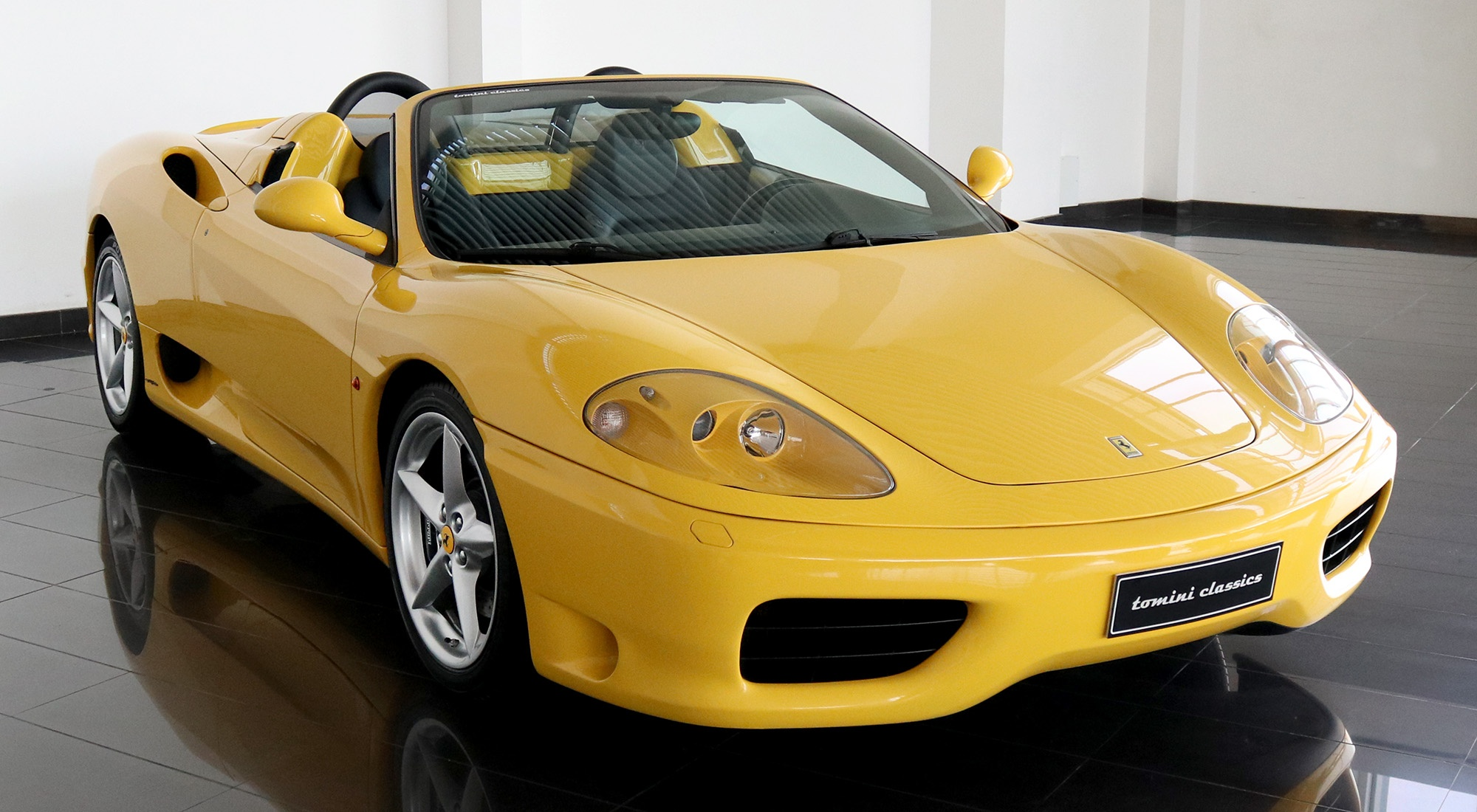 2002 Ferrari 360 Spider Manual Transmission Classic Driver Market