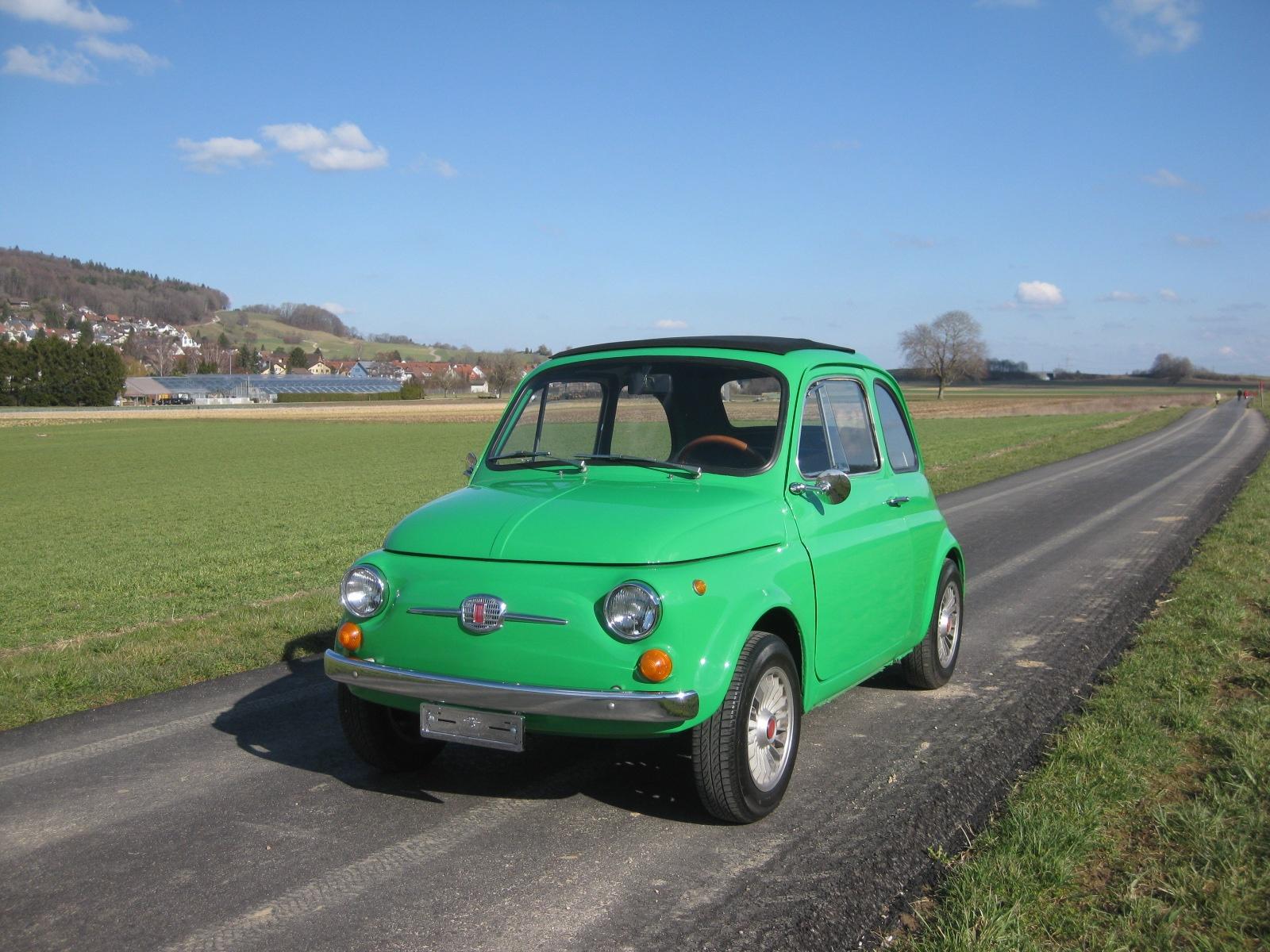 1965 Fiat 500 Vintage Car For Sale 1970