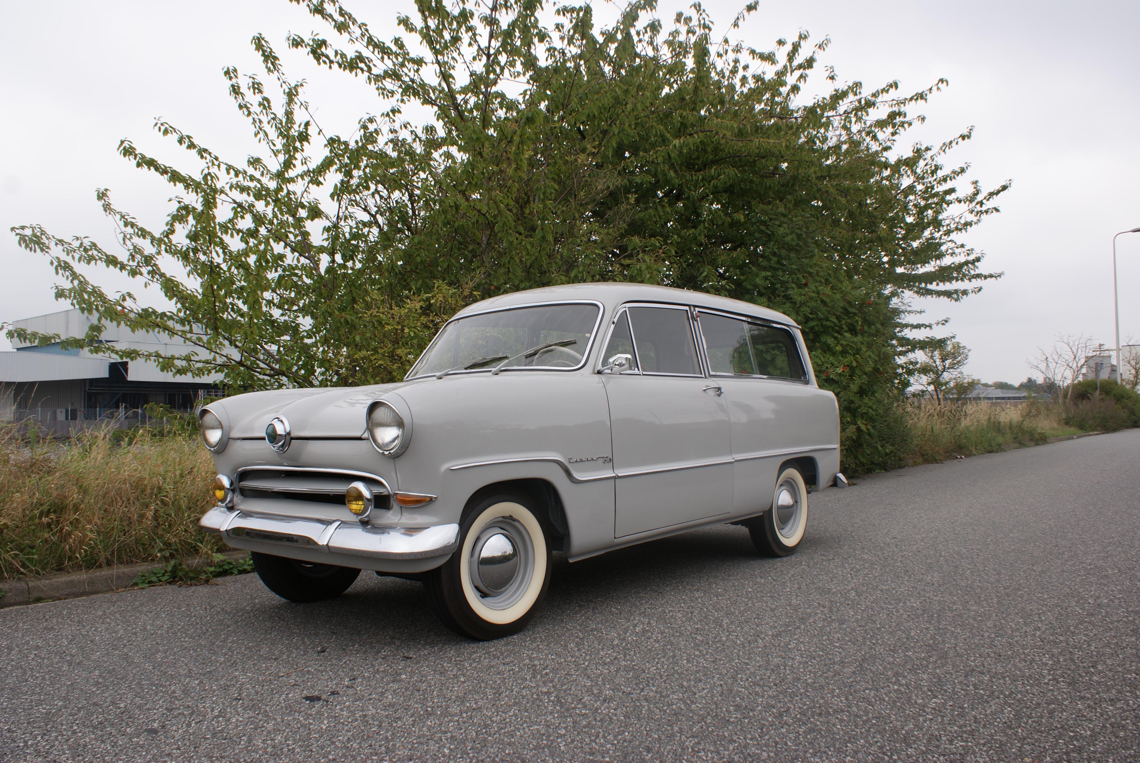 1957 ford taunus 15m break weltkugel classic driver. Black Bedroom Furniture Sets. Home Design Ideas