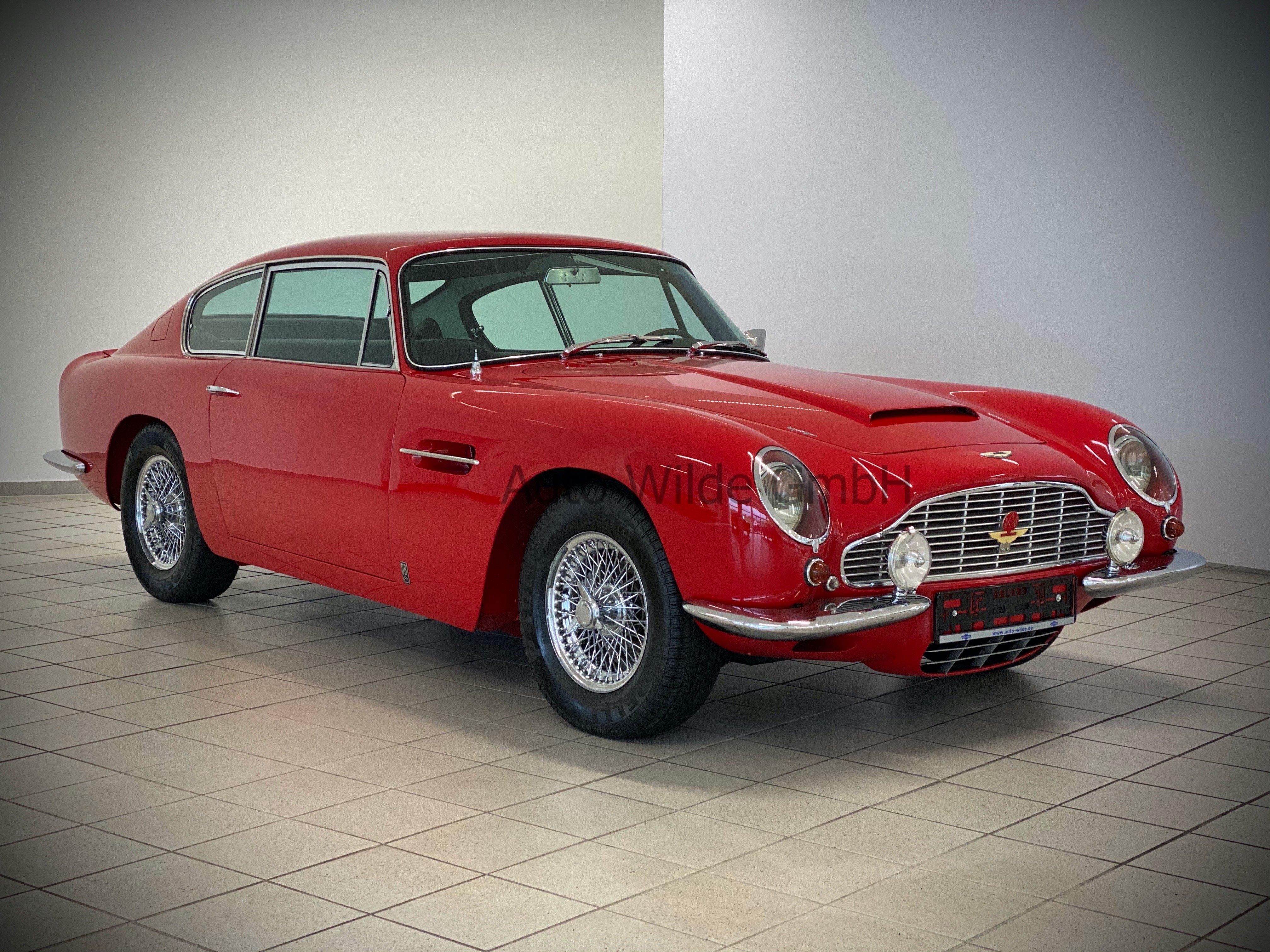 1966 Aston Martin Db6 Classic Driver Market