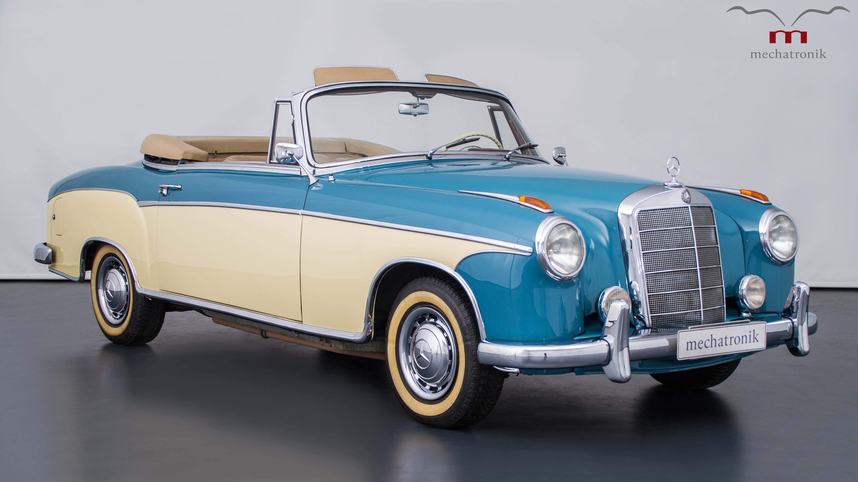 1953 mercedes benz ponton 220 s cabriolet first ever. Black Bedroom Furniture Sets. Home Design Ideas
