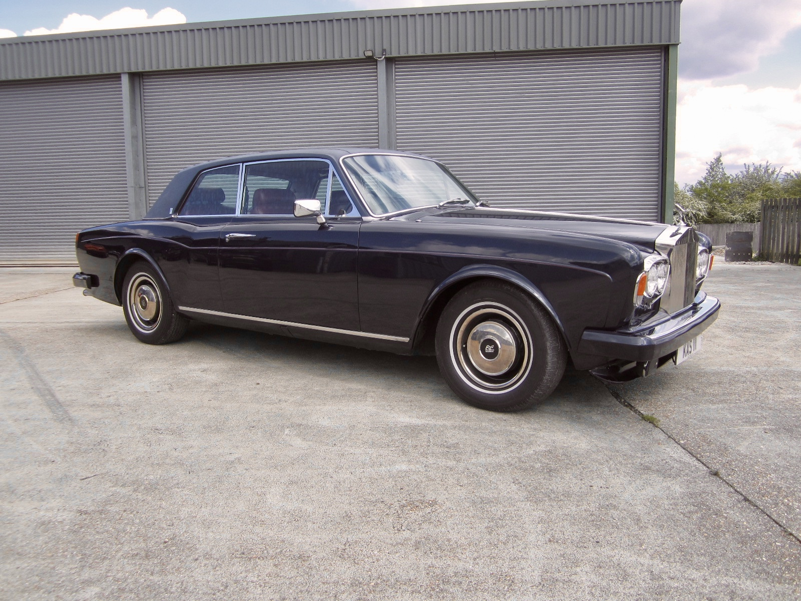 1984 Rolls Royce Corniche I Vintage Car For Sale