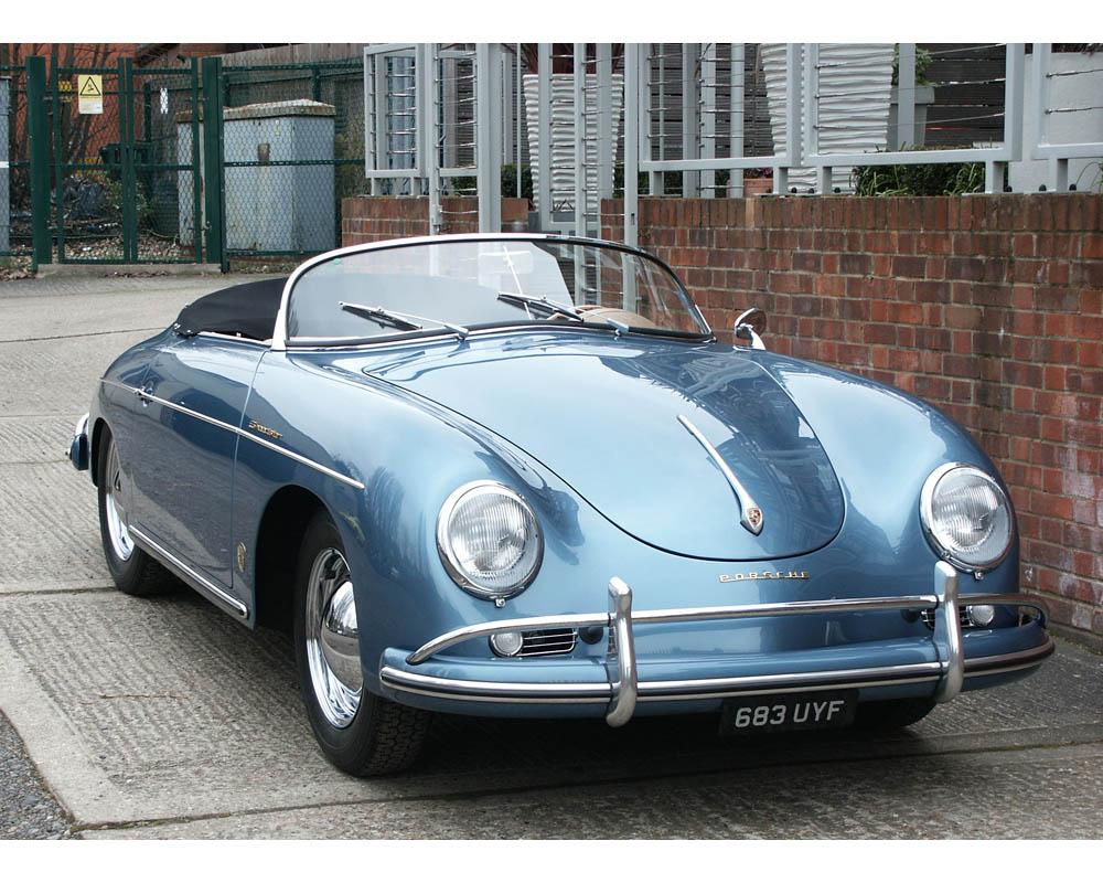 1958 Porsche 356 356a Speedster Classic Driver Market