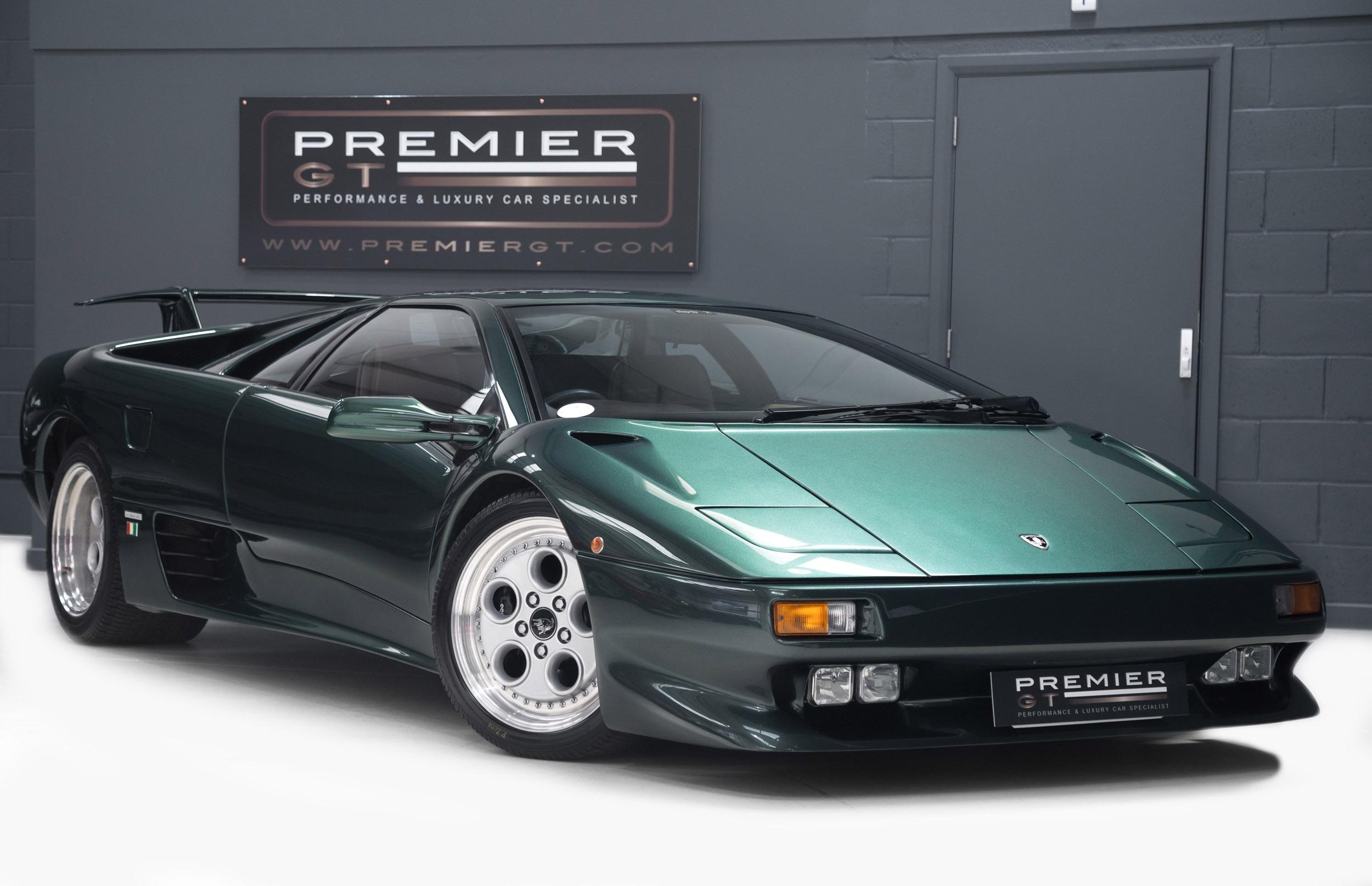 1997 Lamborghini Diablo Vt 5 7 V12 Coupe Very Rare Low Mileage
