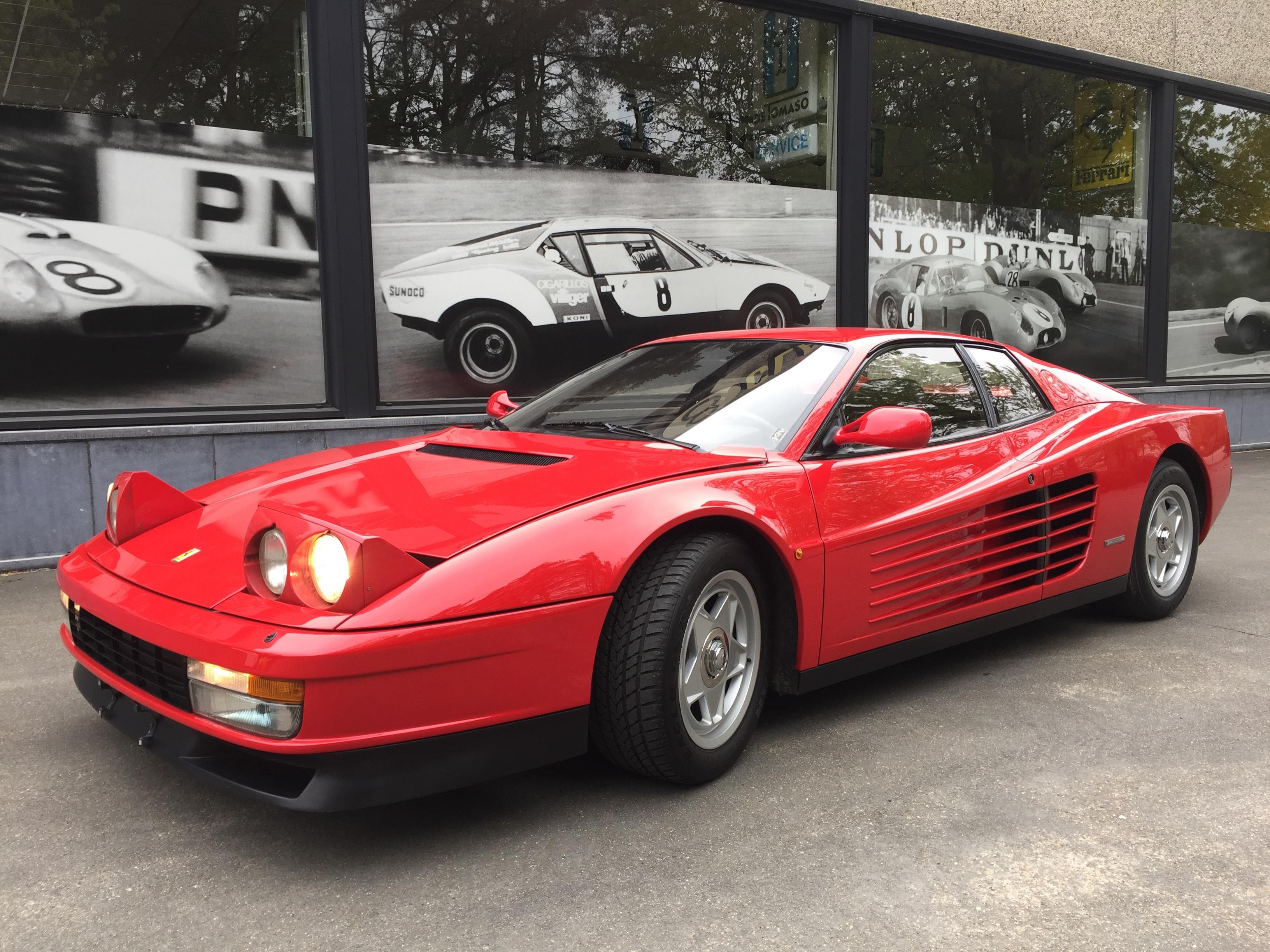 1986 Ferrari Testarossa 8000km Monodado Classic Driver Market