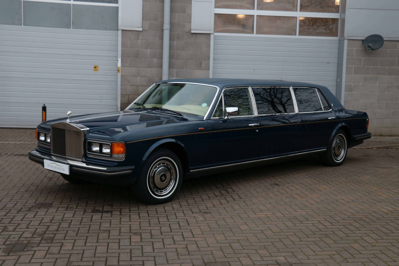 1986 Rolls Royce Silver Spur Limousine Classic Driver Market