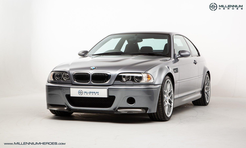 2004 Bmw M3 Bmw E46 M3 Csl 37k Miles Full Bmw Service History Xenons Classic Driver Market