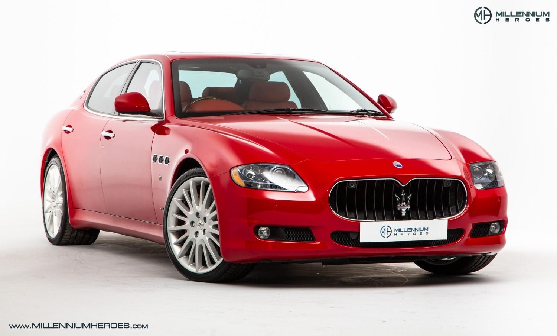 2010 maserati quattroporte 4 7 gts special paint rosso mondiale 61 miles classic. Black Bedroom Furniture Sets. Home Design Ideas