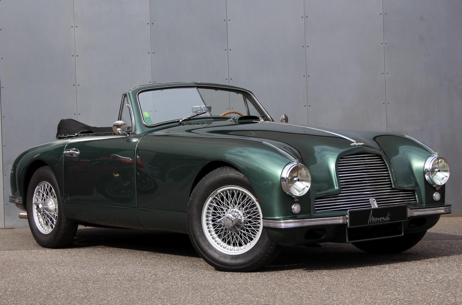 1953 Aston Martin Db2 Original Lhd Vantage Dhc Oldtimer Zu Verkaufen