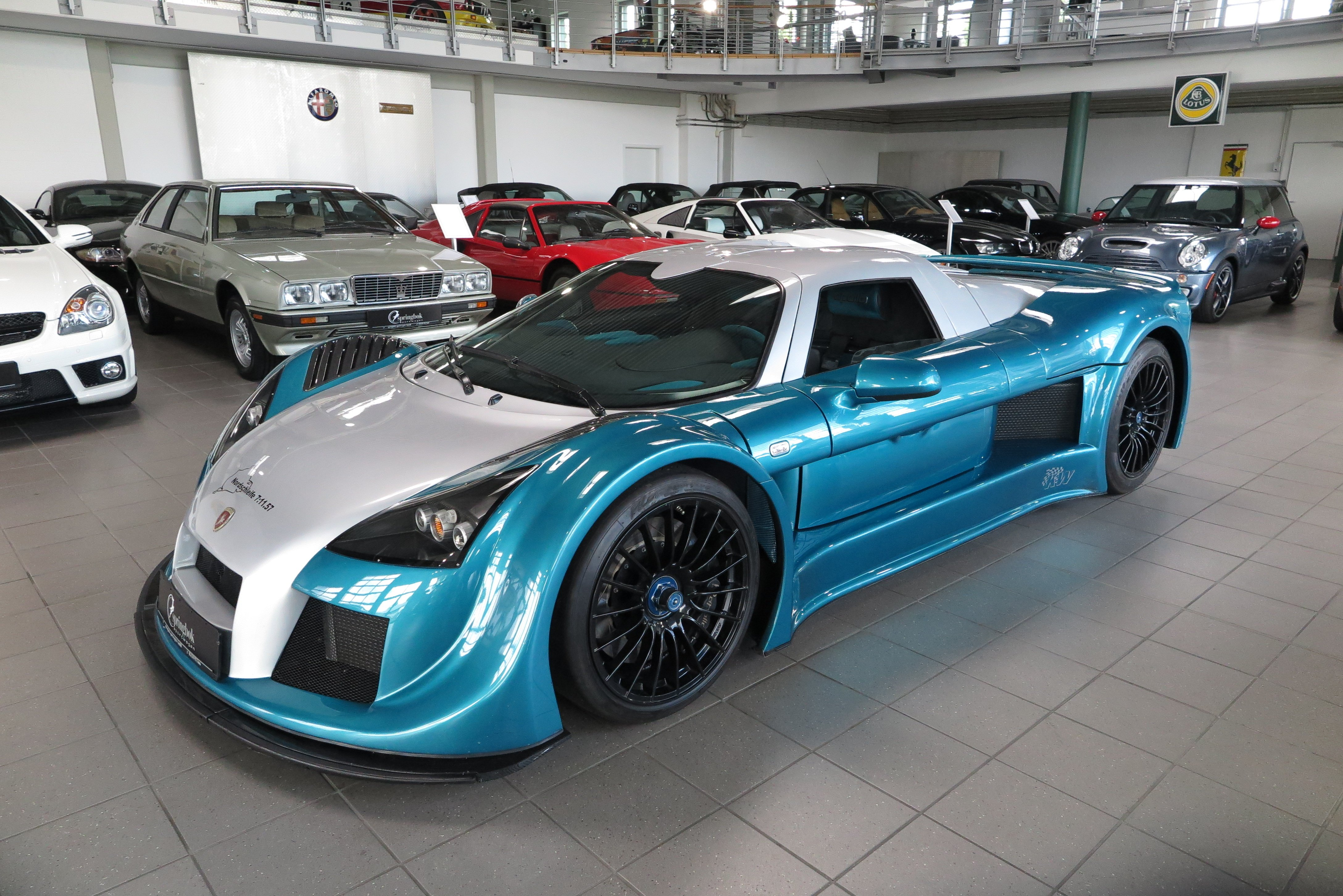 2009 Gumpert Apollo - Apollo Speed *7:11,57 Nordschleife*